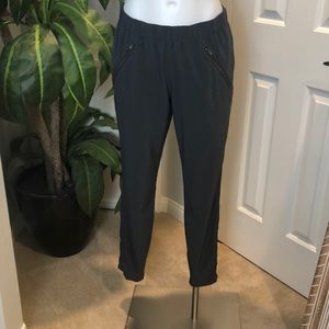 Athleta Jogger Pants with Zippered pockets